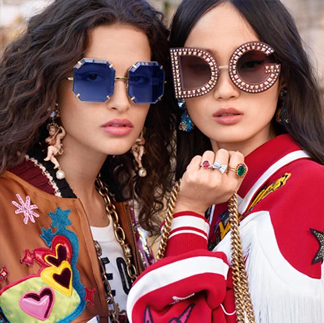 3bcd8dae98 Dolce & Gabbana Autunno Inverno 2018-19. L'occhiale arriva in forme ...