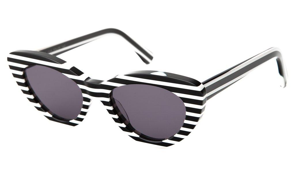 molto carino ultime versioni chiaro e distintivo Illesteva Pamela Sunglasses (Candy Stripe)